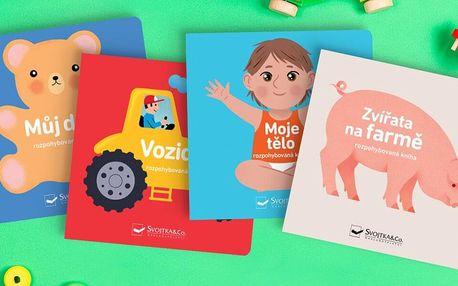 Rozpohybované dětské knihy s vyklápěcími okénky