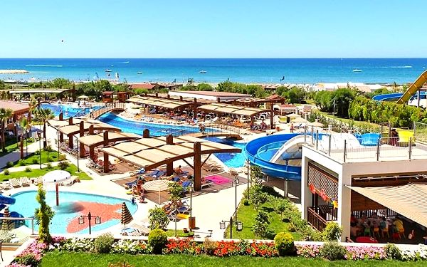 Hotel Adalya Ocean Deluxe, Turecká riviéra, letecky, ultra all inclusive3