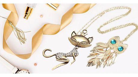 Originální náhrdelníky v různých stylech