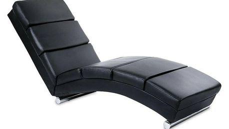 Miadomodo 74257 Relaxační lehátko, černé