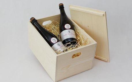 Dárkové balení vína: 4 láhve sektu