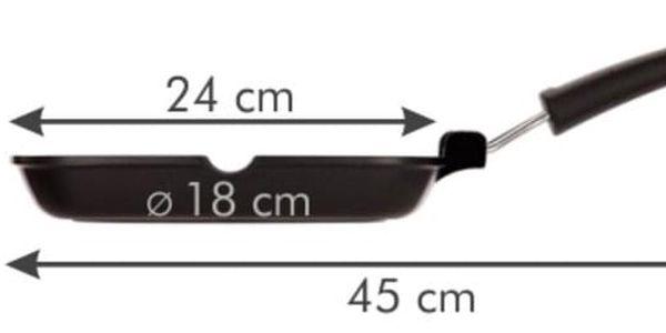 Tescoma PREMIUM grilovací pánev 24 cm2
