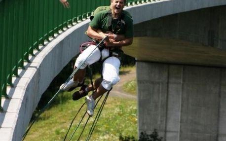 Bungee jumping - Kieneova houpačka