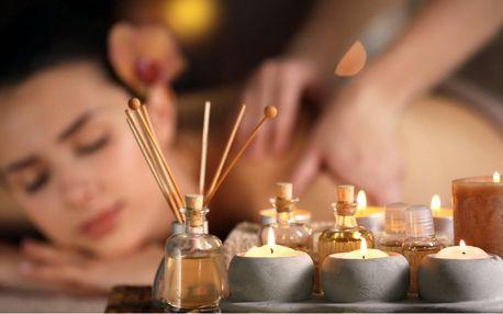 Masáž vonným či čokoládovým olejem i baňkování