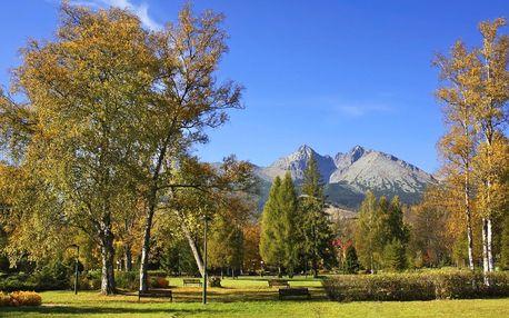 Pobyt v Tatranské Lomnici pro 2 až 4 osoby