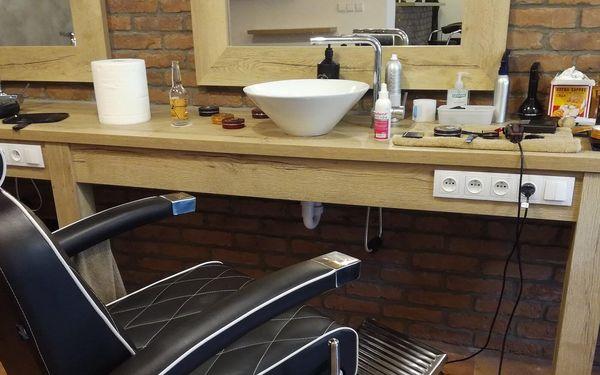Barber péče a sklenka Jack Daniel's Tennessee5