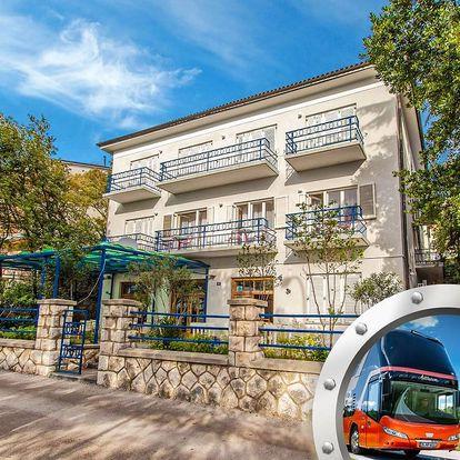 Zkrácená dovolená Crikvenica | Villa Marija** | Doprava v ceně | Dítě do 12,99 let zdarma | Polopenze