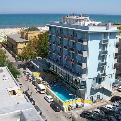 Itálie, Emilia Romagna   Hotel Armstrong*** 50 m od pláže   Dítě do 7 let zdarma