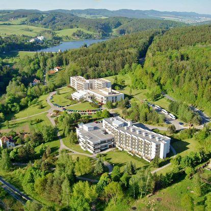 Hotel Harmonie v Luhačovicích s polopenzí či all inclusive a wellness