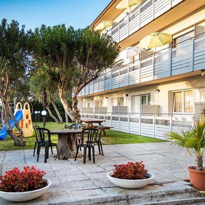 Itálie, Lignano | Villa Yachting*** – termíny mimo hl. sezónu | Dětské hřiště | Strava vlastní | Autobusem