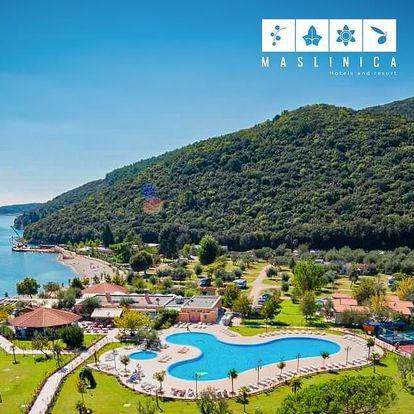 Chorvatsko, Istrie, Rabac | Kemp Oliva*** – mobilhome | Dítě do 6 let zdarma | Polopenze
