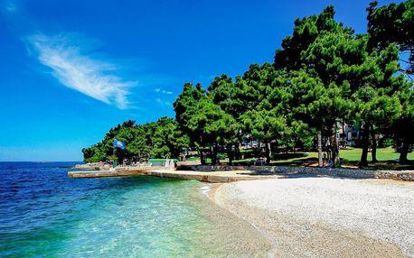 Zájezd Chorvatsko, Poreč | Jednodenní koupání | Oceněná pláž | Autobusový zájezd