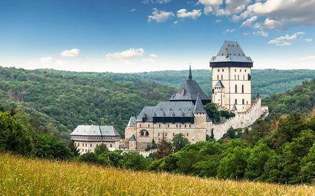 Karlštejn, Koněpruské jeskyně a Velká Amerika | Zájezd s průvodcem | Moderní autobus s klimatizací