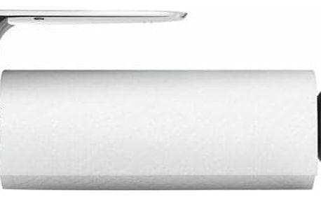 Simplehuman Držák na kuchyňské utěrky na zeď Simplehuman - pro role 28 cm, matná ocel KT1024