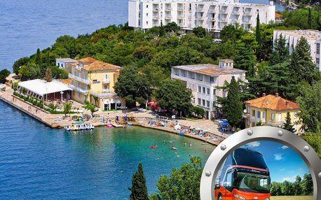 Zkrácená dovolená Omišalj | Hotel Adriatic*** | Doprava v ceně | Polopenze