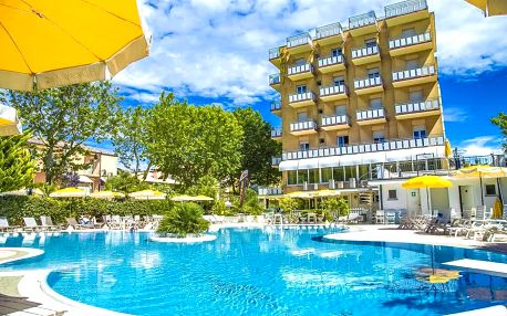 All inclusive light + 2 osoby ZDARMA v depandanci hotelu Duca di Kent