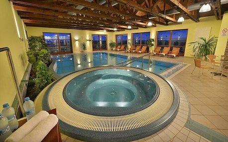 Jižní Morava: Relaxace ve stylovém Hotelu Happy Star **** se snídaní formou bufetu a neomezeným wellness