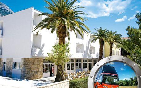 Zkrácená dovolená Makarska | Hotel Palma*** | Dítě do 11,99 let zdarma | Doprava v ceně | Polopenze