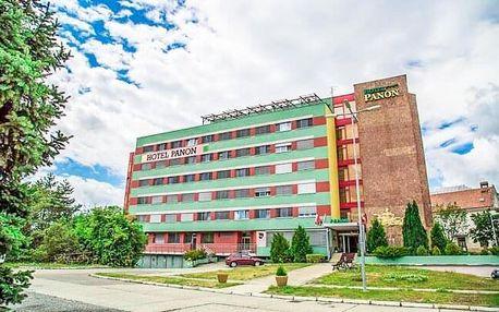 Jižní Morava: Hodonín v Hotelu Panon *** s polopenzí a balíčkem různých slev + možnost degustace