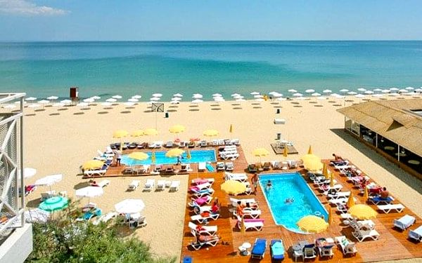 HOTEL MURA BEACH, Albena, Bulharsko, Albena, letecky, all inclusive5