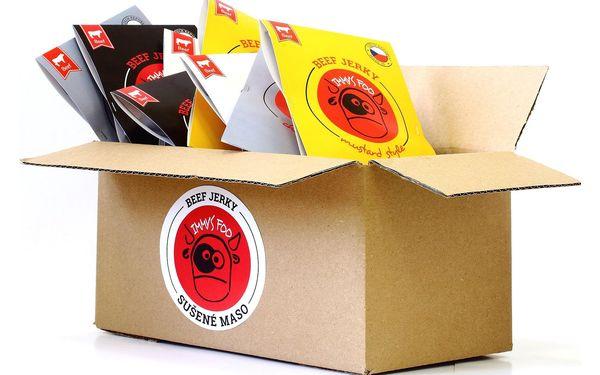 Krabice plná hovězího jerky (24 ks)4