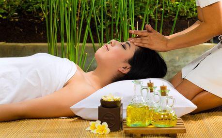 Luxusní balíček: 100 minut relaxace s masáží
