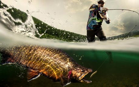 Na den nebo dva rybářem, první úlovky jsou vaše
