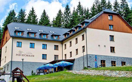 Hotel Pod Kyčmolem**** v Beskydech s wellness a polopenzí