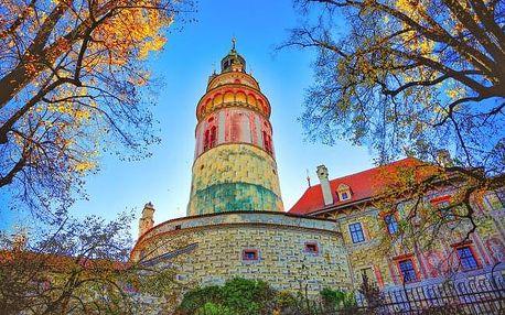 Český Krumlov poblíž centra a krásného zámku v Penzionu Golden Crown *** se snídaní formou bufetu