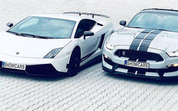Lamborghini Gallardo 570-4 vs. Ford Mustang SHELBY   Praha   1. duben - 31. říjen (středa - neděle).   70 minut vč. administrativy a instruktáže.4