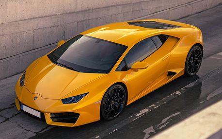 Zkroťte 640 koní nejnovějšího Lamborghini Huracan