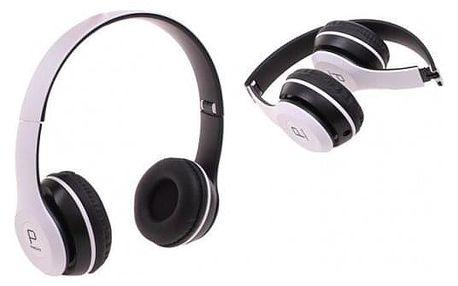 Hudební sluchátka P8047 bílá