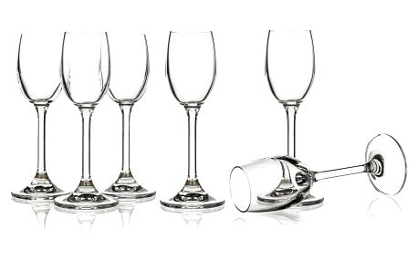 Banquet 6dílná sada sklenic na likér Leona, 60 ml