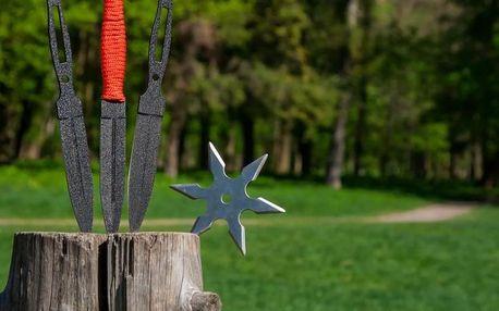 Kurz vrhání nožů, seker a hvězdic