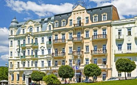 Mariánské Lázně: Hotel Paris *** s polopenzí, kávou s dezertem a až 12 wellness a léčebnými procedurami