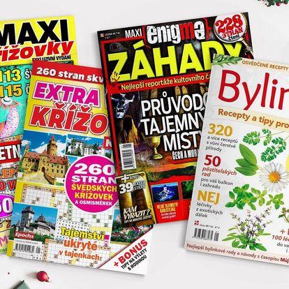 Obří balík zábavy: 6 časopisů + roční el. předplatné