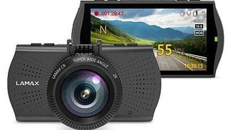 Autokamera LAMAX C9 GPS 2K (s detekcí radarů)
