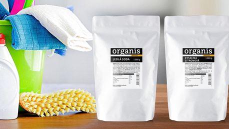 Ekologický úklid: jedlá soda a kyselina citronová
