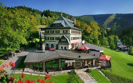 Hotel Praha v centru Špindlerova Mlýnu s více než 140 letou tradicí