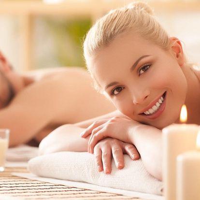Hodinová thajská aroma masáž pro dvě osoby