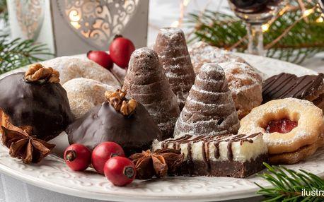1 kg vánočního cukroví, mix 14 druhů či dle výběru
