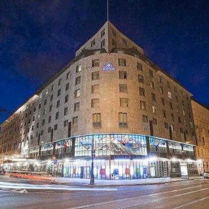 Praha přímo v centru v luxusním Hotelu Hilton Prague Old Town ***** se snídaní, neomezeným wellness a zážitkem