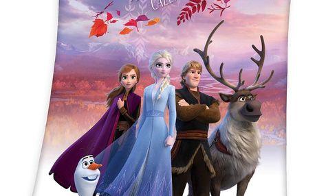 Herding Dětská deka Frozen 2 My destiny's calling, 130 x 160 cm