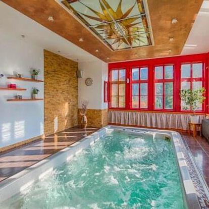 Beskydy: Hotel Zlatý Orel Ostravice **** se snídaněmi, welcome drinkem a privátním wellness s bazénem a saunou