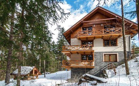 Rodinná dovolená či maloskupinová akce v chatě Alpina