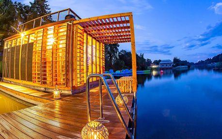 Jako ve Finsku: relax v říční sauně na Orlici