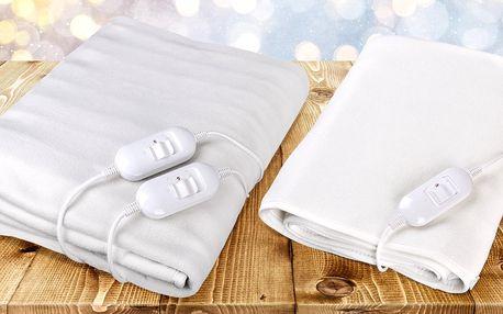 Nahřívací deka na jednolůžko nebo manželskou postel