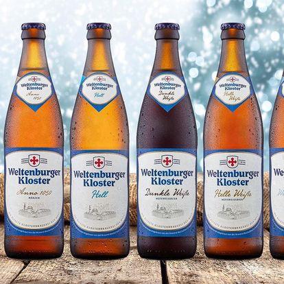 Pivní lahůdky z Bavorska - 5 piv a sklo nebo 3l speciál