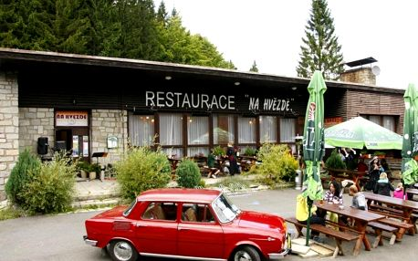 Karlova Studánka: Penzion a restaurace Na Hvězdě
