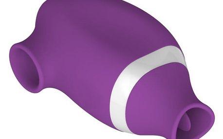 Basic X duální podtlakový stimulátor 2v1, fialová